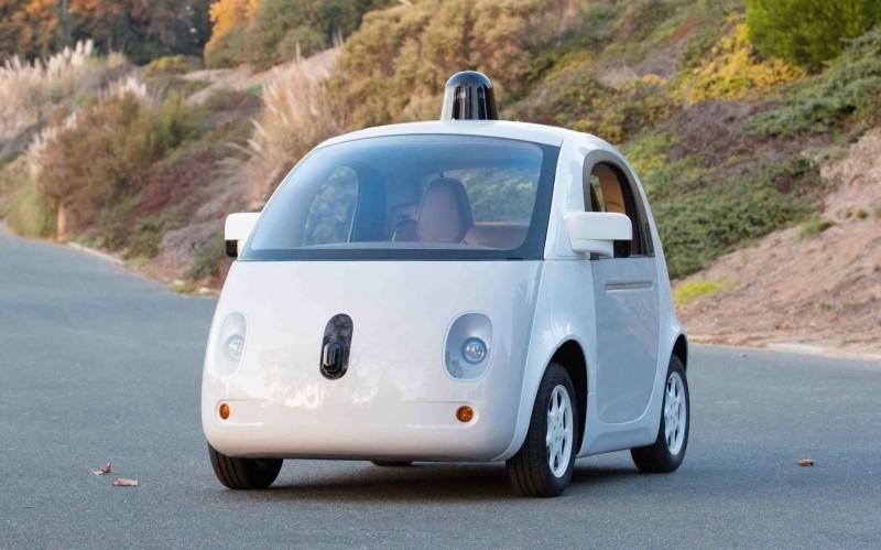 google patent patent application autonomous car driverless car self-driving car airbags