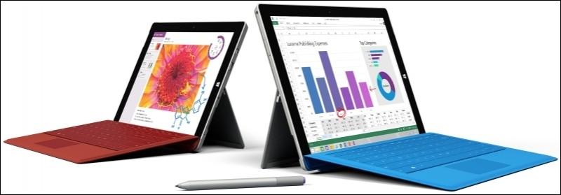 surface pro atom microsoft intel tablet laptop windows 8.1 surface mini surface 3 surface 3 pro