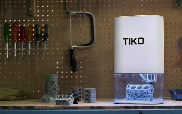 kickstarter printer 3d printer tiko