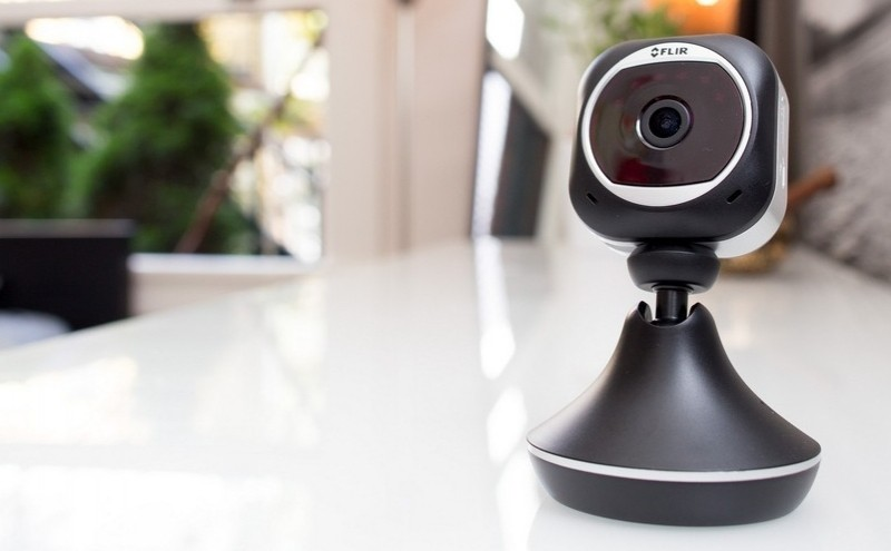 flir security camera turns hours footage bite-sized clips camera security camera security cam security footage