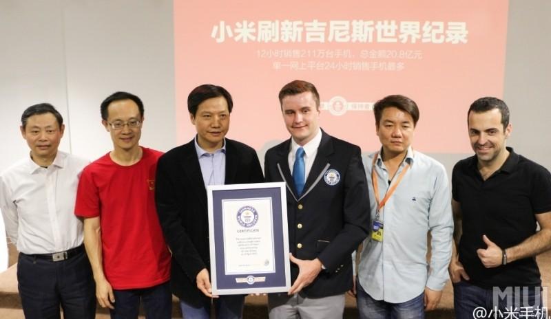 xiaomi guinness apple lenovo smartphone lg guinness world record record phones alibaba iphone 6 tmall