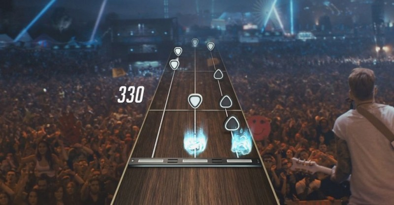 guitar hero xbox wii playstation activision mobile gaming guitar hero live
