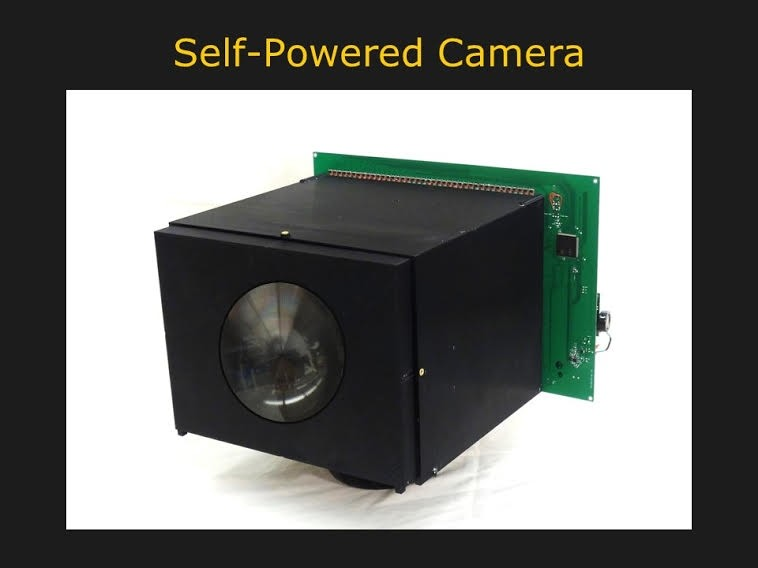 video camera battery energy power electricity battery technology camera sensor self-powered camera photodiodes