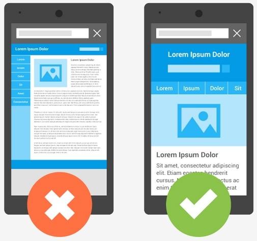 google mobile smartphone search algorithm mobile website mobile optimized mobile-friendly