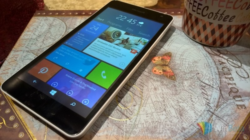 windows technical preview build microsoft smartphone operating system mobile os windows phones windows 10 windows 10 technical preview build 10052