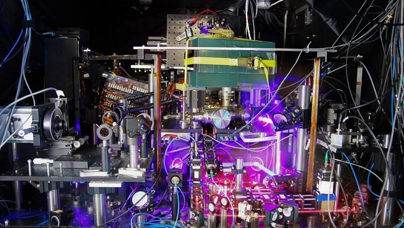 latest atomic clock clock record breaker strontium