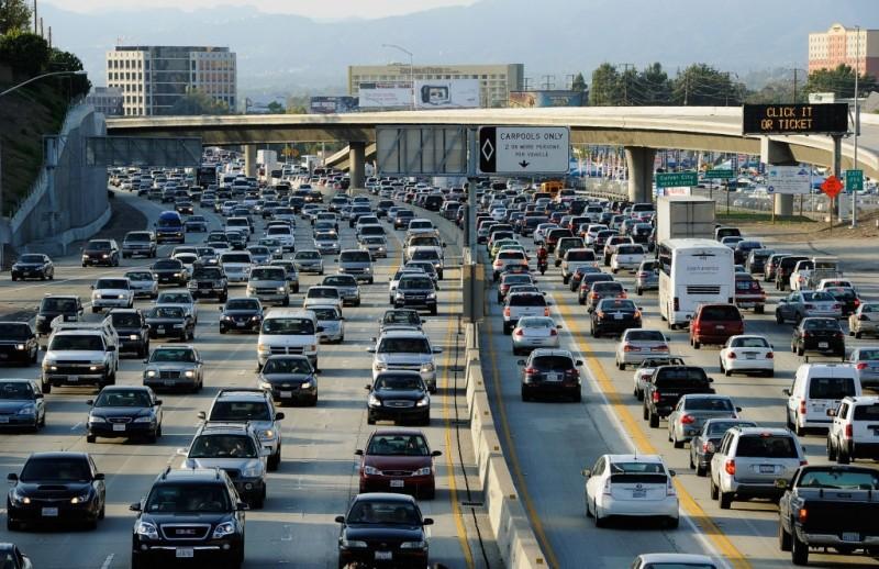 los angeles waze traffic traffic jam periscope eric garcetti