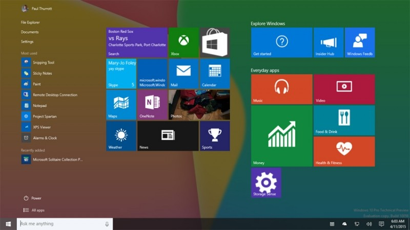 microsoft windows preview build windows 10 insiders