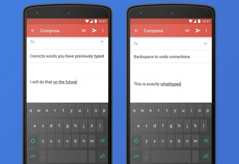 swiftkey debuts clarity experimental keyboard featuring multi-word autocorrect mobile keyboard siwftkey autocorrect sentence correct grammar mobile keyboard