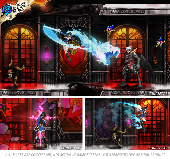 castlevania bloodstained ritual night gaming pc rpg kickstarter playstation 4 xbox one bloodstained ritual of the night iga koji igarashi gothic crafting michiru yamane inti creates