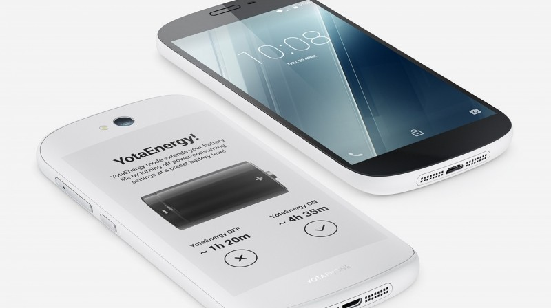 yotaphone e-ink dual-screen yotaphone 2