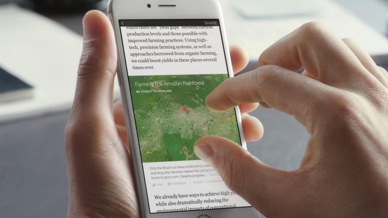 facebook instant articles iphone