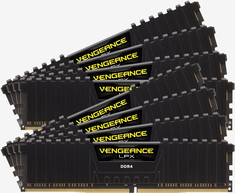 corsair retailing 128gb udimm ddr4 kits starting ddr4 memory ram vengeance lpx dominator platinum ddr4 ram memory128gb quad-channel