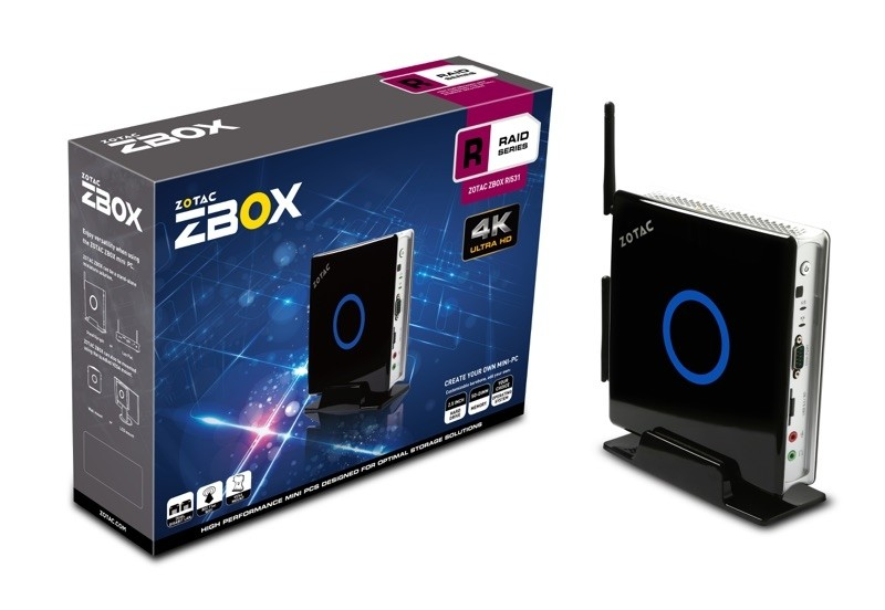 zotac raid zbox mini pc