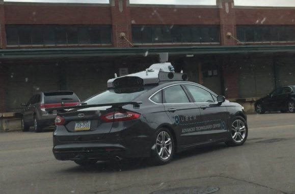 uber experimental autonomous cars spotted streets pittsburgh autonomous cars taxi driverless car self-driving car