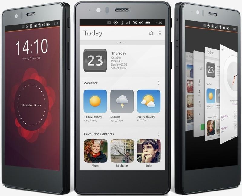 ubuntu linux smartphone handset phone ubuntu phone linux phone