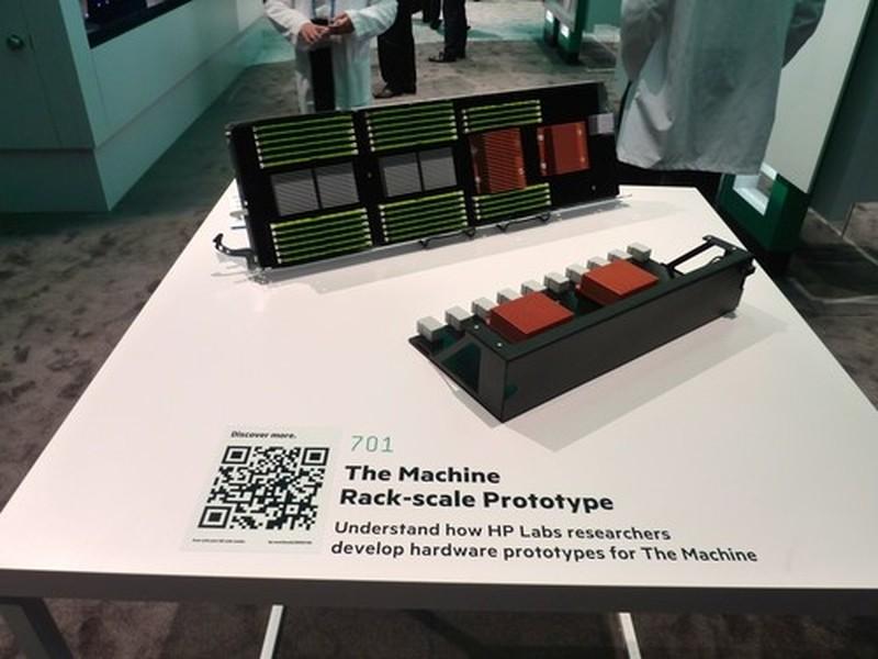prototype machine dram hp the machine hewlett packard enterprise computing the future