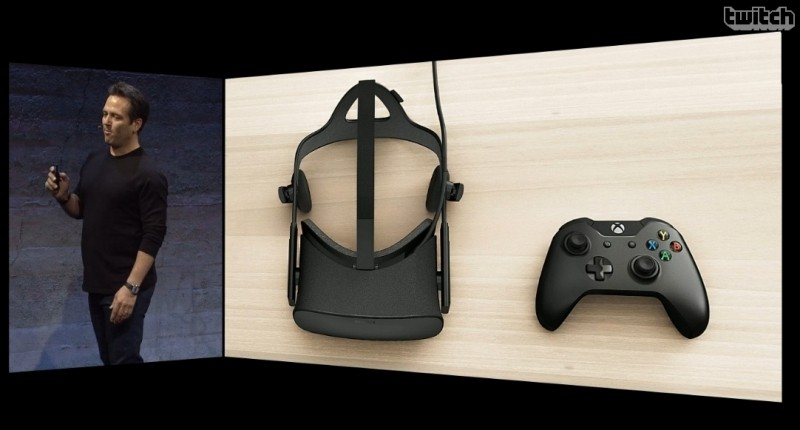 oculus rift rift microsoft facebook e3 gamepad virtual reality vr vr headset motion controller xbox one oculus oculus vr windows 10 e3 2015 oculus home oculus touch half moon xbox one controller