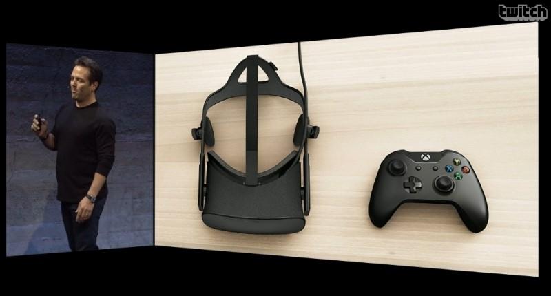 oculus rift rift microsoft facebook e3 gamepad virtual reality vr vr headset motion controller xbox one oculus oculus vr windows 10 e3 2015 oculus home oculus touch half moon xbox one controller