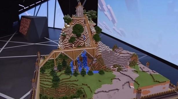 microsoft minecraft hololens gaming e3 mojang virtual reality vr augmented reality e3 2015