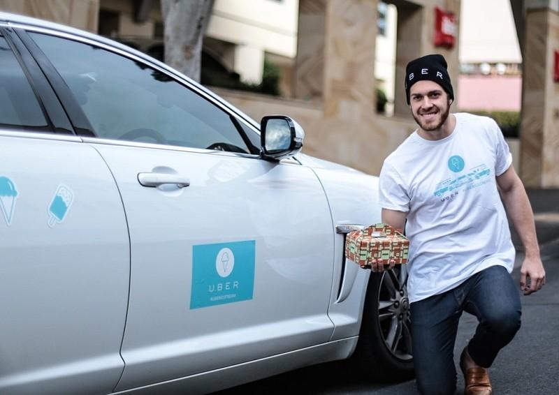 wsj uber apple starbucks package delivery delivery transportation
