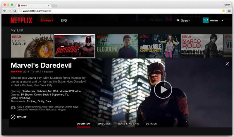 netflix website web streaming streaming video web interface