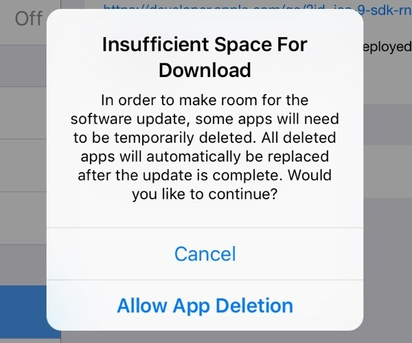 ios apple iphone ipad apps software update ios 9