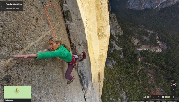 google capitan street view google maps maps yosemite el capitan