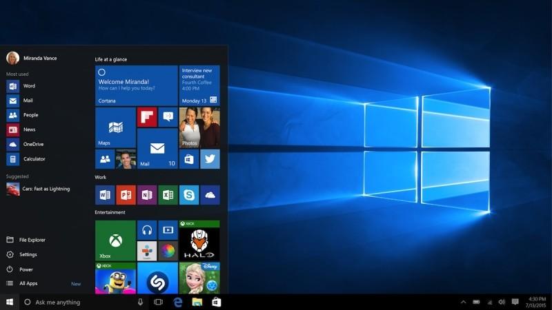 windows hero desktop image scenes microsoft operating system windows 10 background