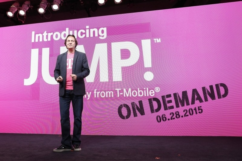 t-mobile smartphone uncarrier john legere jump on demand uncarrier amped lease