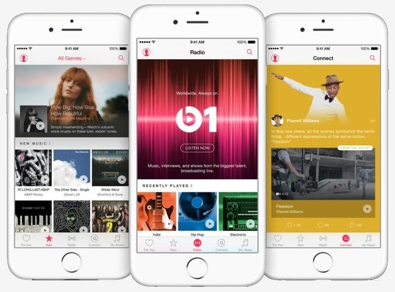 apple releases ios apple music beats revamped music app apple music music app streaming music beats 1 ios 8.4