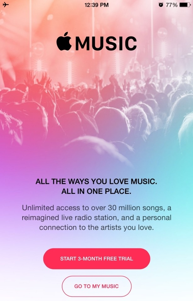 ios apple music music apple music app streaming music beats 1 ios 8.4