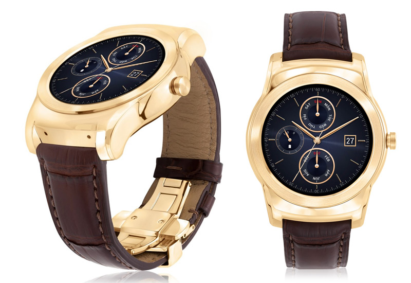 LG's new 23-karat gold Android Wear smartwatch costs ...