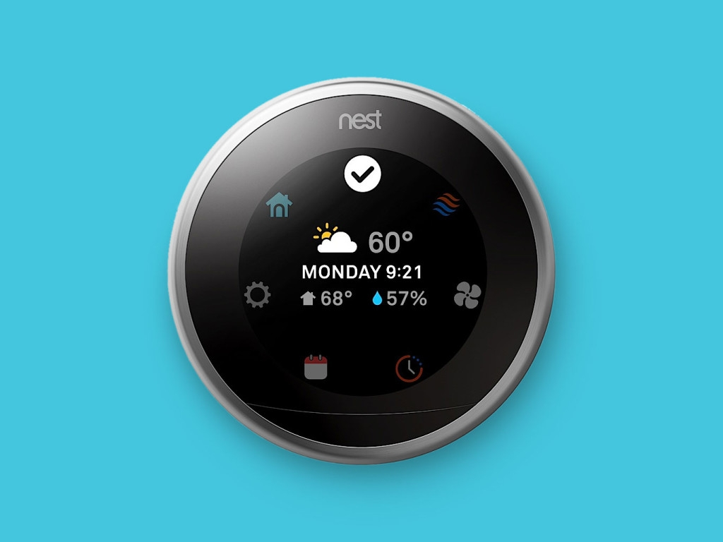 Nest Thermostat Refresh Includes Larger Display  Slimmer