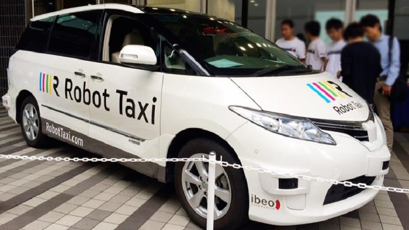 japan, self driving car, robot taxi, autonomous taxi