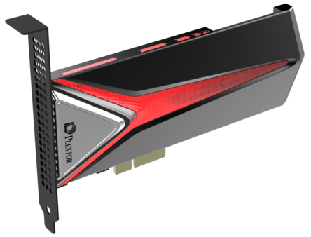 Plextor Launches M8Pe NVMe PCI-e 4x SSD