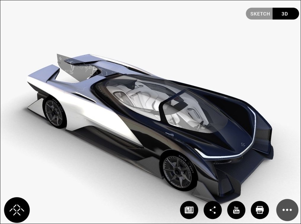 leaked, ces, tesla, concept, electric car, faraday future, ces 2016, concept car