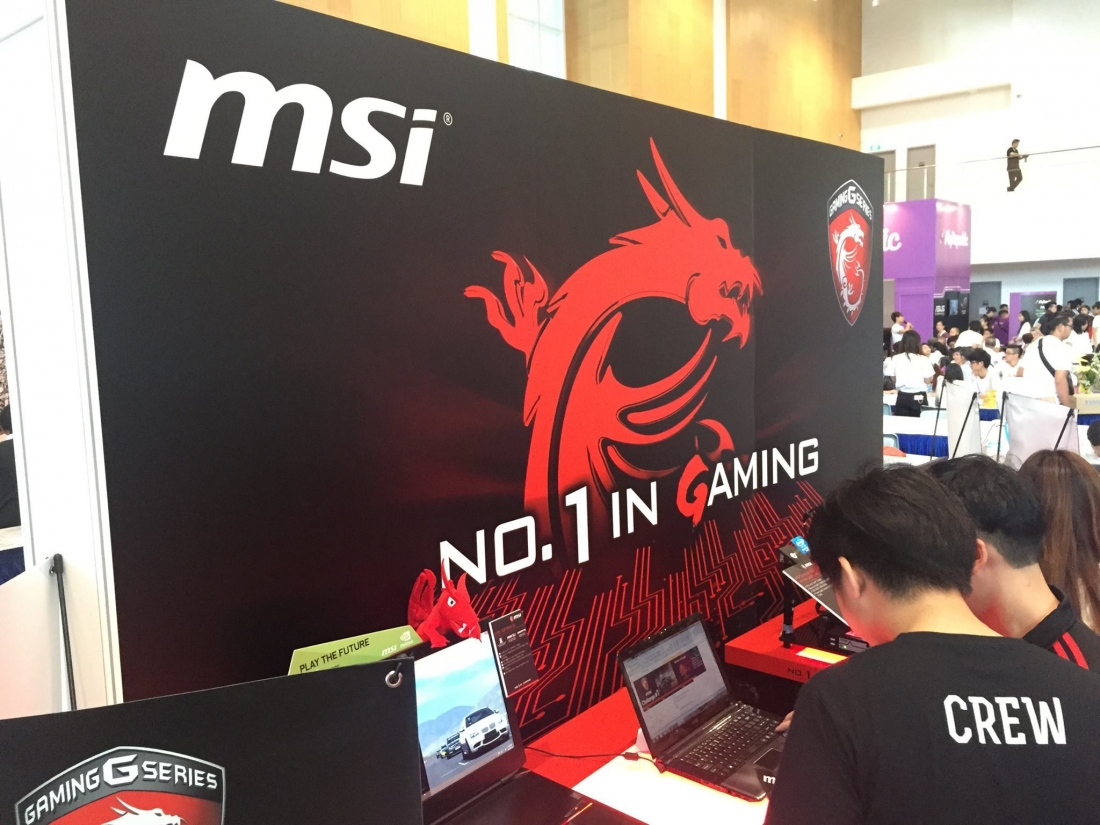 msi, tobii, gaming laptop, eye tracking, gt72s