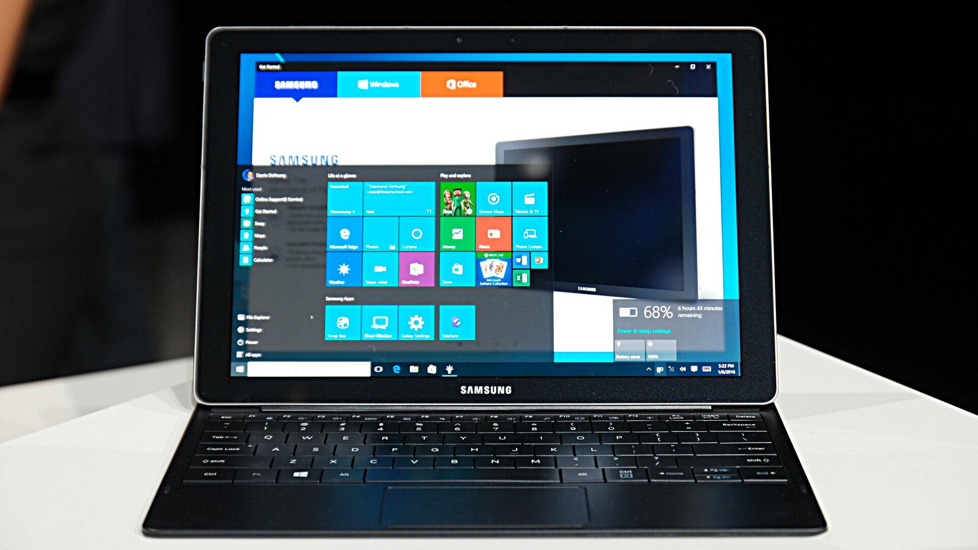 Samsung announces Galaxy TabPro S running Windows 10 ...
