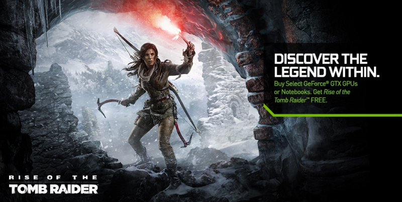 nvidia, tomb raider, pc gaming, rise of the tomb raider, game bundle