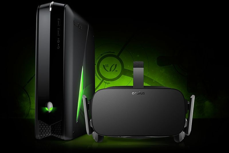 dell, alienware, ces, gaming laptop, vr, oculus rift, oculus, alien, ces 2016