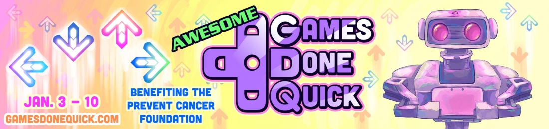 gaming, charity, awesome games done quick, gdq, summer games done quick