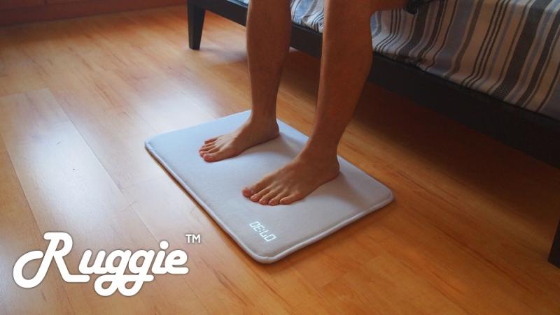 kickstarter, ruggie, alarm mat