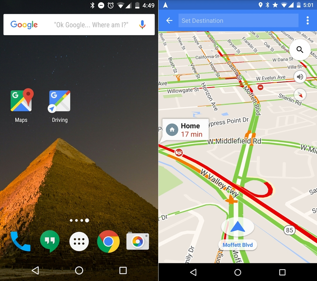 google maps, gps, mapping, driving mode