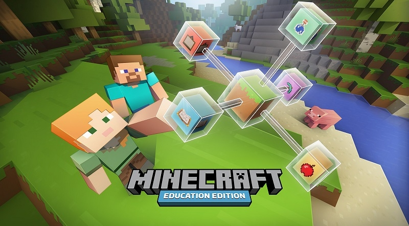 microsoft, minecraft, gaming, education, notch, markus persson, mojang, schools, minecraftedu, teacher gaming, minecraft education edition, joel levin