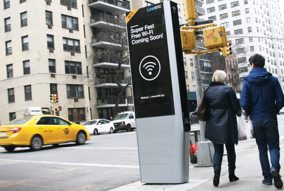 wi-fi, new york, free wi-fi, linknyc, public wi-fi, payphone, phone booth