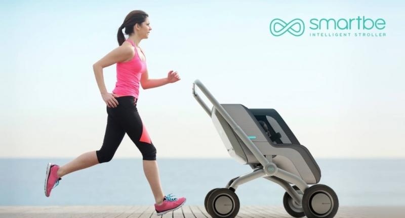 crowdfunding, indiegogo, smartbe, semi-autonomous, stroller, intelligent stroller