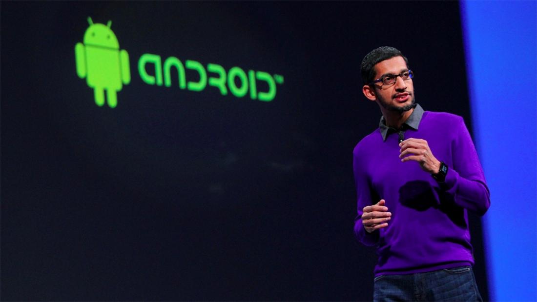 android, nexus, smartphone, sundar pichai