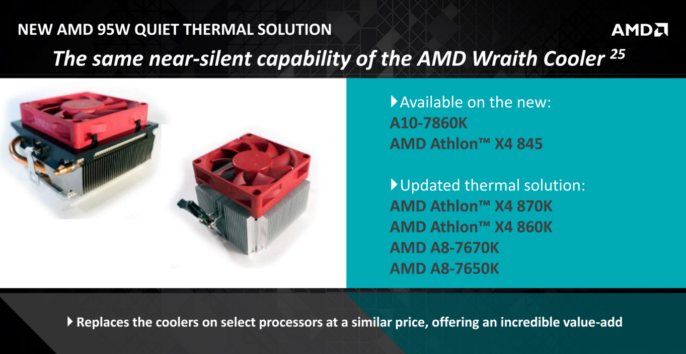 AMD talks about new CPUs, AM4 socket and new stock CPU