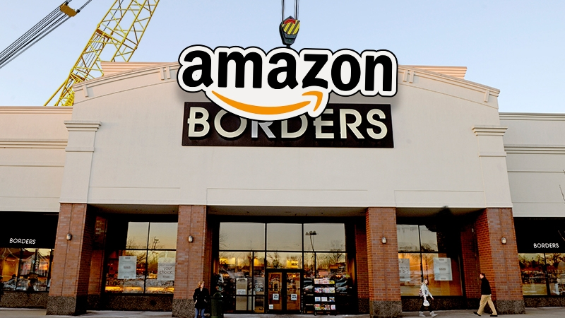 amazon, retail store, brick and mortar